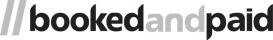//bookedandpaid Logo